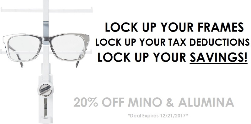 LOCK 'EM UP FOR SAVINGS!!!