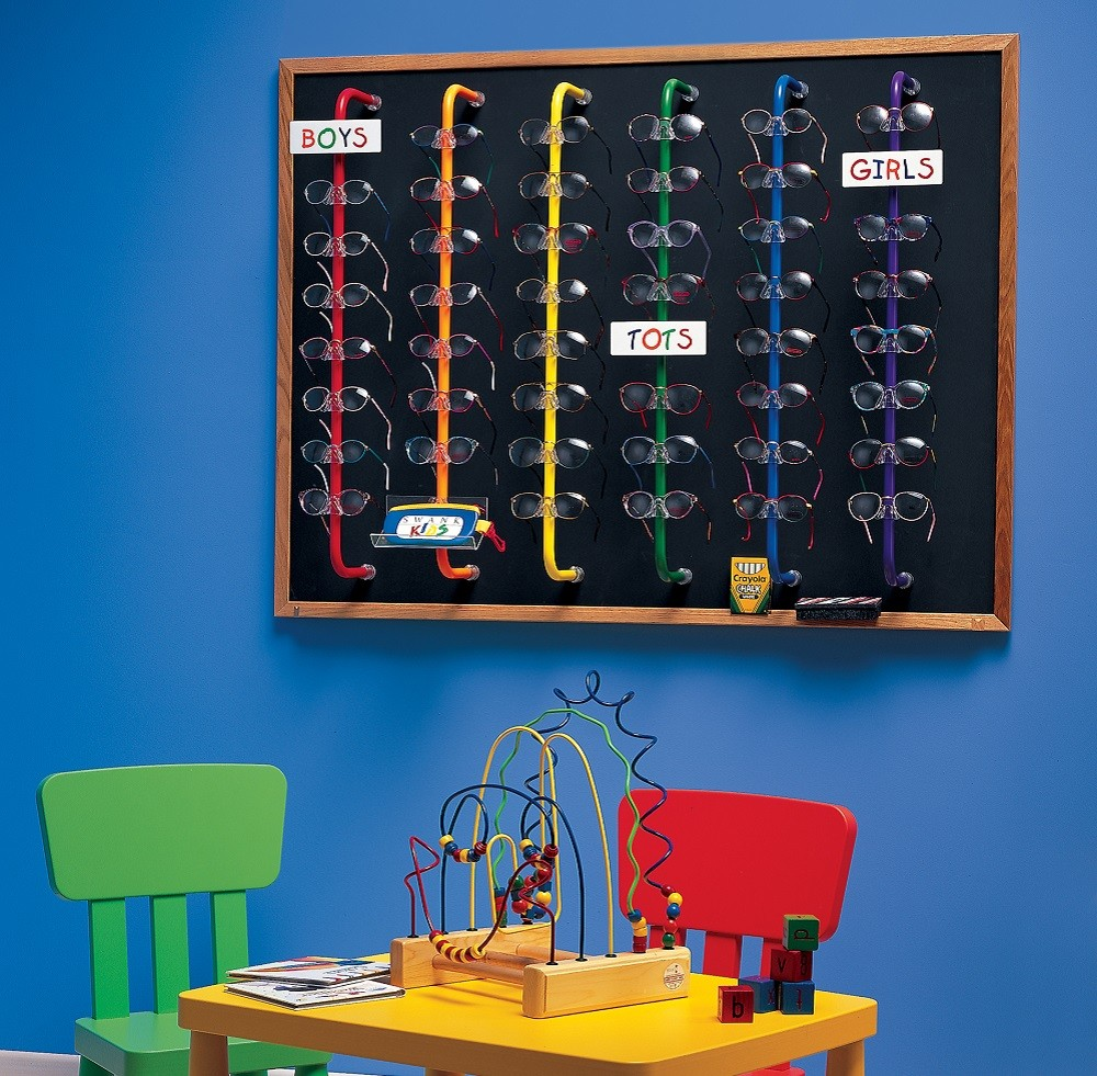 kids display, kids eyewear display, kids glasses display